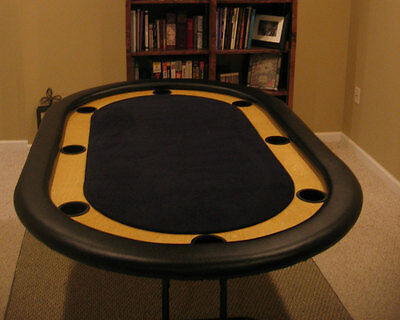 Casino Style DIY Poker Table Plans - Texas Holdem 8-person or 10-person