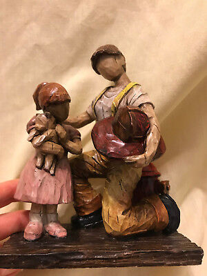 """2002 We The People Statue """"Rescue Complete"""" - Cast Art Industries"""