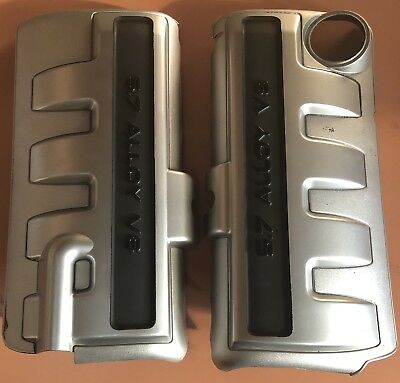 VZ Commodore SS Z Calais V8 5.7 ENGINE COVERS LEFT AND RIGHT GENUINE used