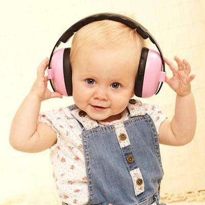 Hearing Protection Baby Safety Earmuffs for 3 Months-4 Years Old Child Noise Red