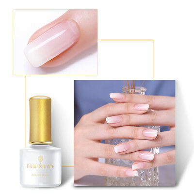 6ml BORN PRETTY Opal Jelly UV Gel Nail Polish White Soak Off  Decoration