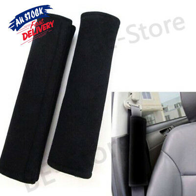 2x Car Seat Belt Pad Harness Soft Safety Shoulder Strap Cushion Covers Baby Kids