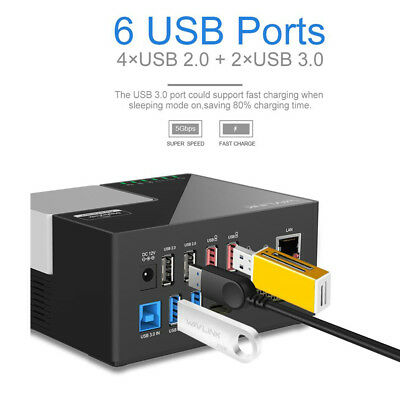 WS-UG39DK3 Universal USB 3.0 Dual Video Docking Station Plug Play Display Link