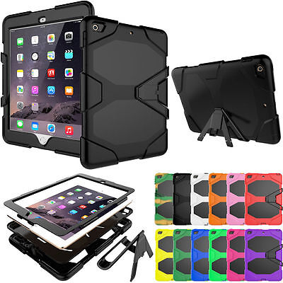 """For Apple iPad 9.7"""" 2017 2018 6th Gen Case Shockproof Hard Full Protective Cover"""