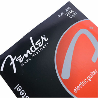 Fender 250L 009-042 Light Nickel-Plated Ball End Electric Guitar Strings #HDS