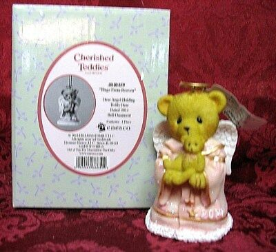 Cherished Teddies Dated 2014 Ornament Bell~Item# 4040459
