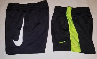 Lot - 2 pair Nike  Athletic Shorts Toddler Boys Size 2T