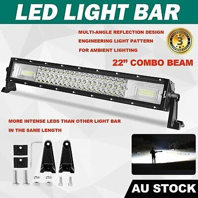"""22inch CREE LED Driving Light Bar Spot Flood Combo Lamp Truck Offroad 4WD 22/23"""""""