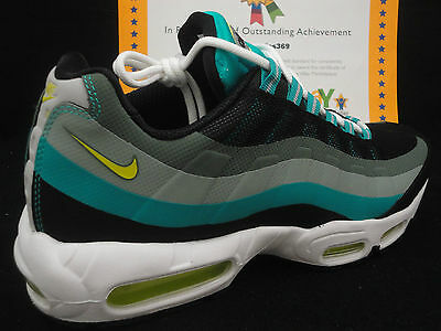 cheaper 96271 7e6d3 Nike Air Max 95 No Sew, Black   Venom Green   Turbo Green, 616190
