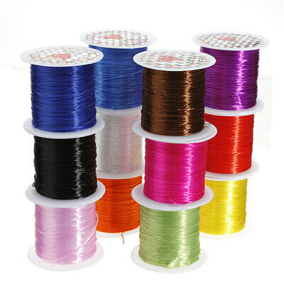 10M 0.8MM Elastic Stretch Beading Thread Cord Bracelet String DTYJewelry Making