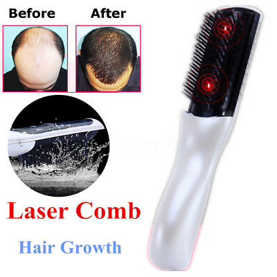Wireless Infrared Laser Therapy Power Grow Comb Stop Hair Loss Regrow Treatment