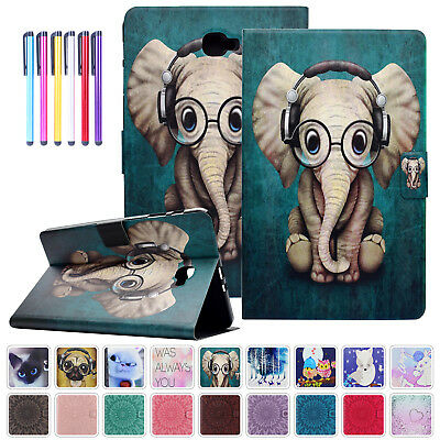Magnetic Wake/Sleep Leather Stand Case Cover For Samsung Galaxy Tab A 10.1 T580
