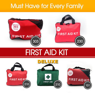 2 X 303 Pcs Emergency First Aid Kit - A Must Have for Every Family ARTG