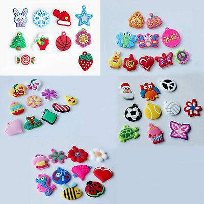 50 Loom Band Bracelet Charms Accessory
