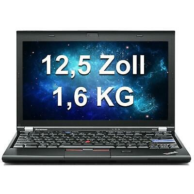 Lenovo Thinkpad X220 i5 2,5GHz LED 1366x768 4 GB RAM 250GB HDD WEBCAM Windows 7