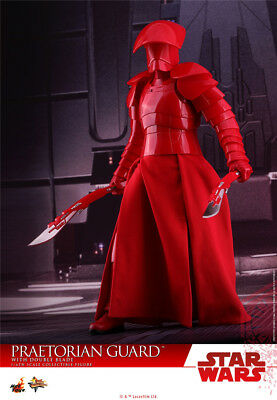 Hot Toys MMS454 1/6th Star Wars The Last Jedi Praetorian Guard Double Blade Ver.