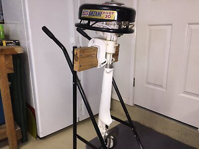 British Anzani Outboard - Never started since new - Imaculate.