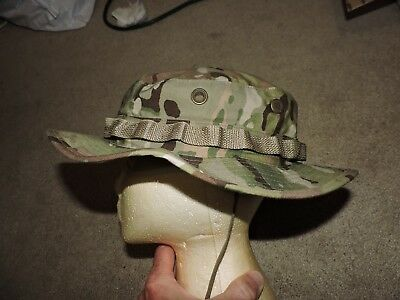 New Military U.s. Army Ocp Multicam Uniform Sun Boonie Hat Size 7 1/4 Camouflage