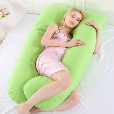 2018 Comfortable U Full Pillow Body Maternity Support+Free Pregnancy Case Health