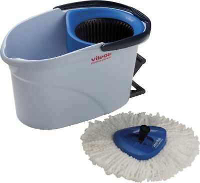 Vileda Cleaning Set Ultra Spin Mini Mop Bucket 6L Blue 152910 C1V