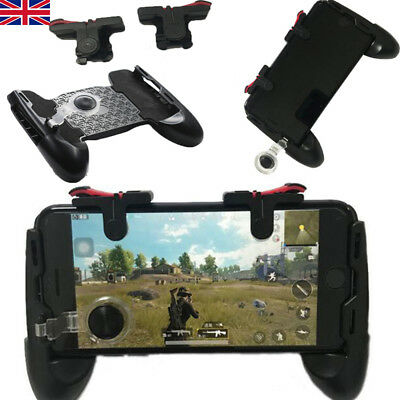 PUBG Mobile Phone Shooter Controller Game Trigger Gamepad Fire Button Handle BK