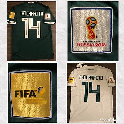 0e5bee8d133 FIFA WORLD CUP 2018   Chicharito Hernandez   Mexico Away-Home Jersey ...
