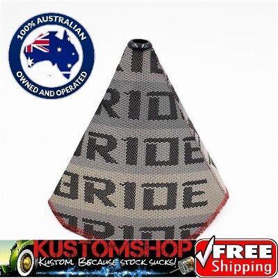 Bride Shifter Boot, Universal Fit. Bride Racing, Bride Material, Seat Pattern.