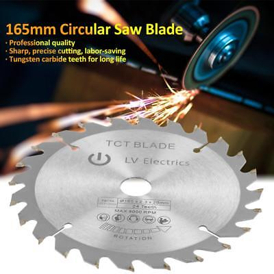 Circular Saw Blade 165mm x 40T 20mm Bore w/ Reduction Rings for DSS610 BSS610