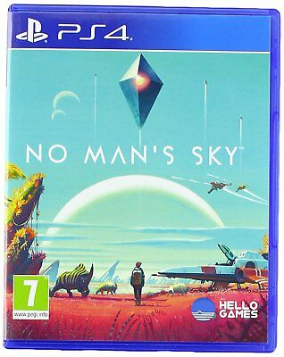 No Man's Sky PS4 NEW SEALED DISPATCHING TODAY  PLACED BY 2 P. M.