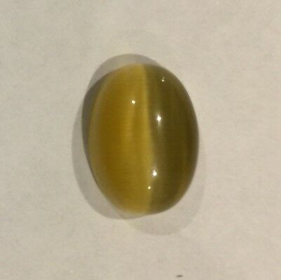 6.60 ct  Awesome Rare Yellow Cat's eye Chrysoberyl Great Value!!!