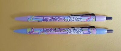 2x SANRIO LITTLE TWIN STARS. BALLPOINT & MECHANICAL PENCIL, NEW