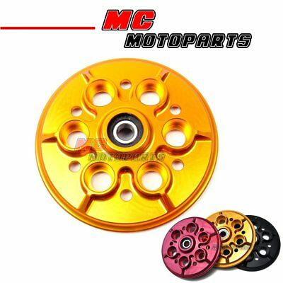 Motorcycle Ducati Pressure Plate Gold CNC For Ducati 1098 1198 748 Monster S4R