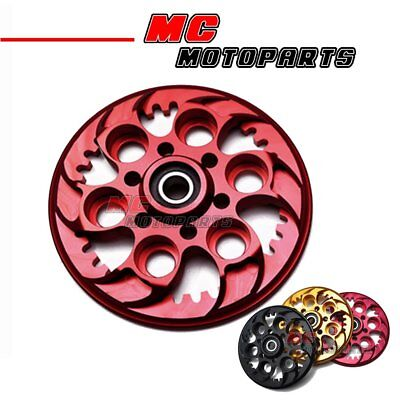Motorcycle Ducati Pressure Plate Red CNC For All Ducati Dry Clutch Model Engine