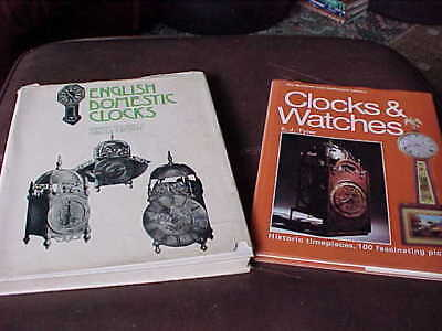 2 x VINTAGE CLOCK AND WATCH BOOKS : CESCINSKY WEBSTER TYLER