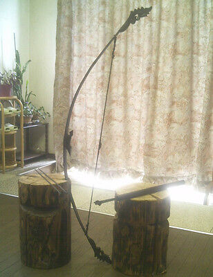 Bow and Arrows with quiver, Rare! Thailand #A1000032