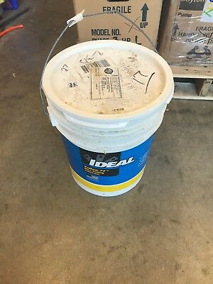 Wire Pulling Lubricant, 5 gal.,Yellow, Ideal, 31-355, Only 27lbs. Left