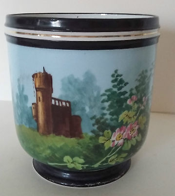 COVER POT PORCELAIN FROM PARIS DECOR OF RUIN - 19th - ANTIQUE FRENCH PLANTER