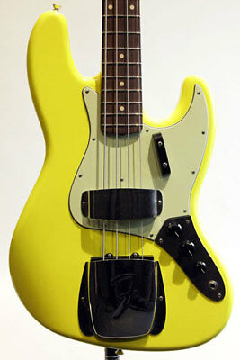 Fender Custom Build 1964 Jazz Bass CC GRAFFITI YELLOW / MH 4 Strings with HC