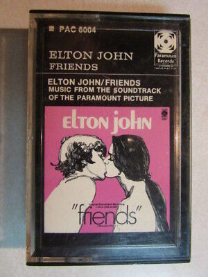 Elton John Friends Original Soundtrack Paper Label Cassette Tested Mega Rare Oop