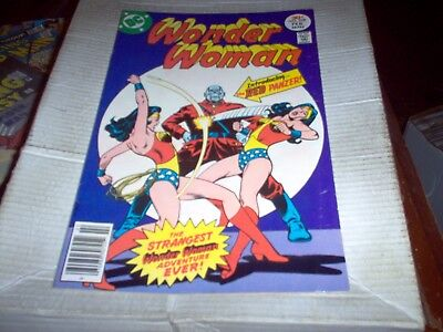 Wonder Woman # 228 Delbo Art Introduction Of The Red Panzer Look Vf-