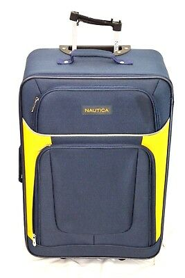 f5464b924 $460 NAUTICA Oceanview 24'' Expandable Rolling Wheel Travel Suitcase Luggage