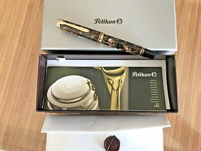 Pelikan M800 Renaissance Brown Special Edition Msrp $800 Boxed *new Condition *