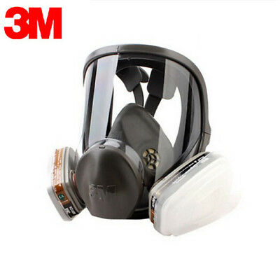 Original 3M Full Facepiece Reusable Respirator 6000 Series Ships From USA