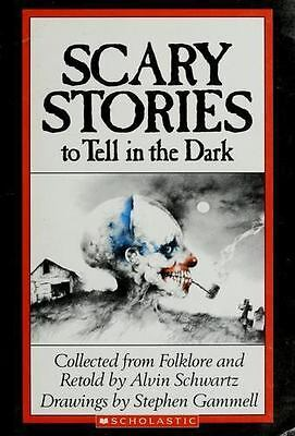 SCARY STORIES TO TELL IN THE DARK by Alvin Schwartz paperback book FREE SHIPPING