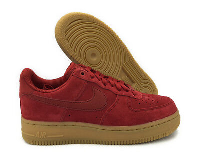 finest selection f3abd 214e7  896184-601  Nike Air Force 1  07 Se Speed Red Women Sneaker