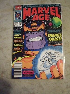 Marvel Age #91 Thanos Quest