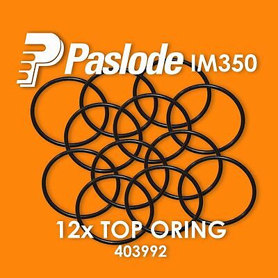 PASLODE 12 x REPLACEMENT IM350 TOP O RING ORING 403992 for Paslode Nailer IM350
