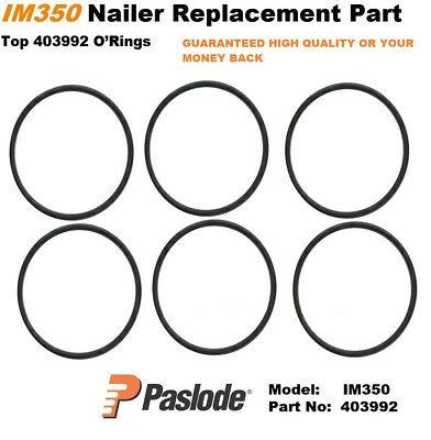 Paslode Im350 6x Replacement Top O Ring 6 x 403992