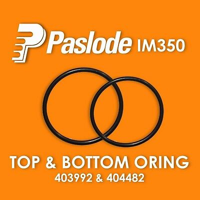 Paslode Im350 Top and Bottom Replacement Orings (403992 , 404482) ORING SEAL