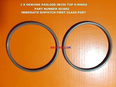 2 X Genuine Paslode Top  O-Rings 403992  Genuine Parts Original Oem